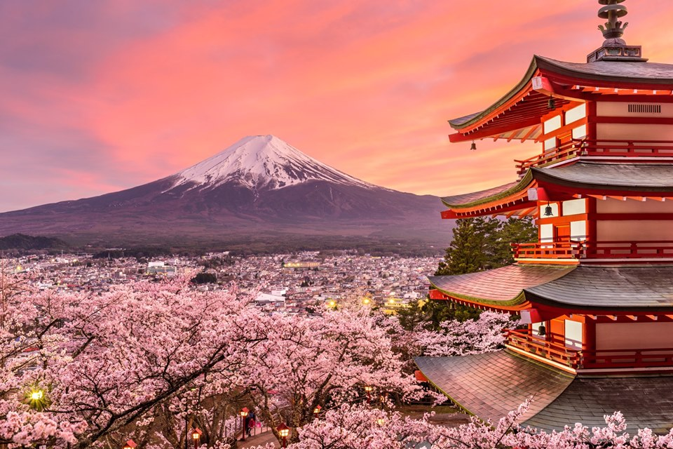 Tour Quảng Ngãi – Nhật Bản – 5 ngày 4 đêm
